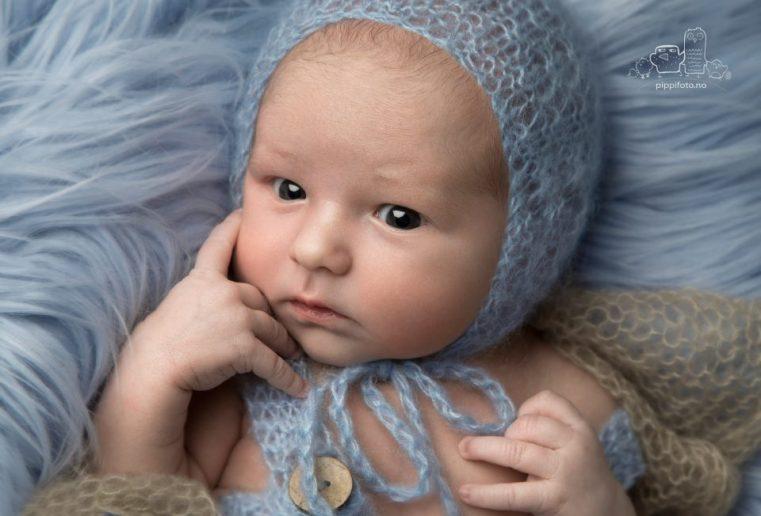 nyfødtfotografering på Kolbotn-nyfødtgutt