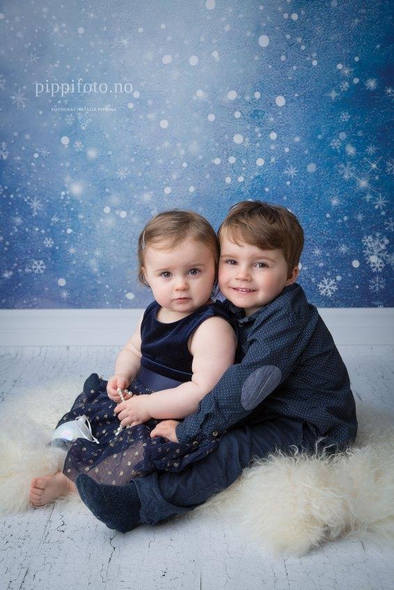 julekort-julekortfotografering-julepynt-søskenfotografering-barnefotograf