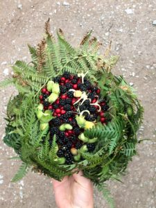 Autumn Forage in a Basket - Pippin & Gile Foraging Course