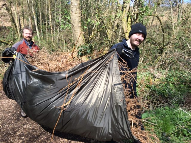 Weekend Bushcraft Course - Shelter Building