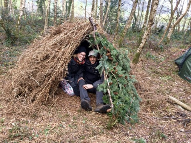 Weekend Bushcraft Course - Shelter Success
