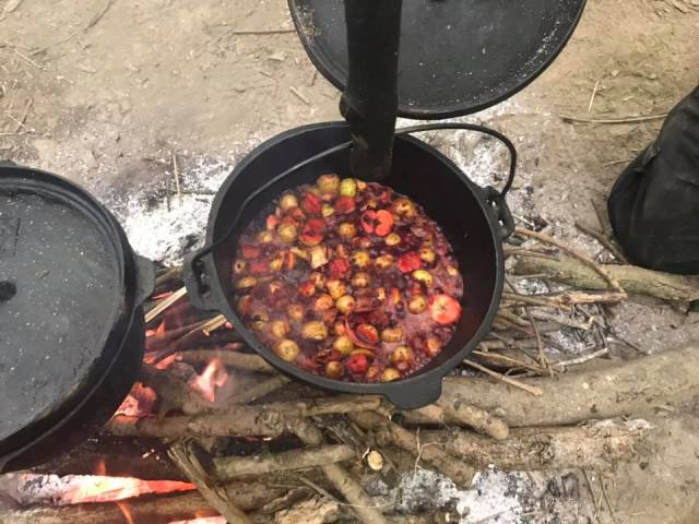 Pulp mix - Crab Apple Butter - Bushcraft - Pippin & Gile