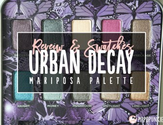 Review & Swatches: Urban Decay Mariposa Palette