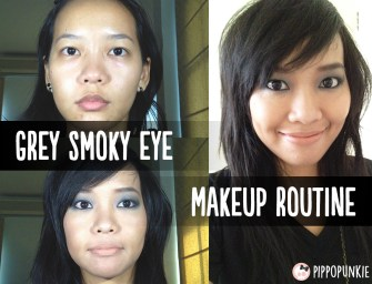 Video: Makeup Diary – Grey Smoky Eyes