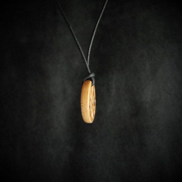 Reproduction Rondelle de Sungir sunghir en ivoire de mammouth