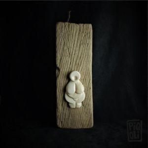 Vénus ivoire de mammouth bas relief Piqoli