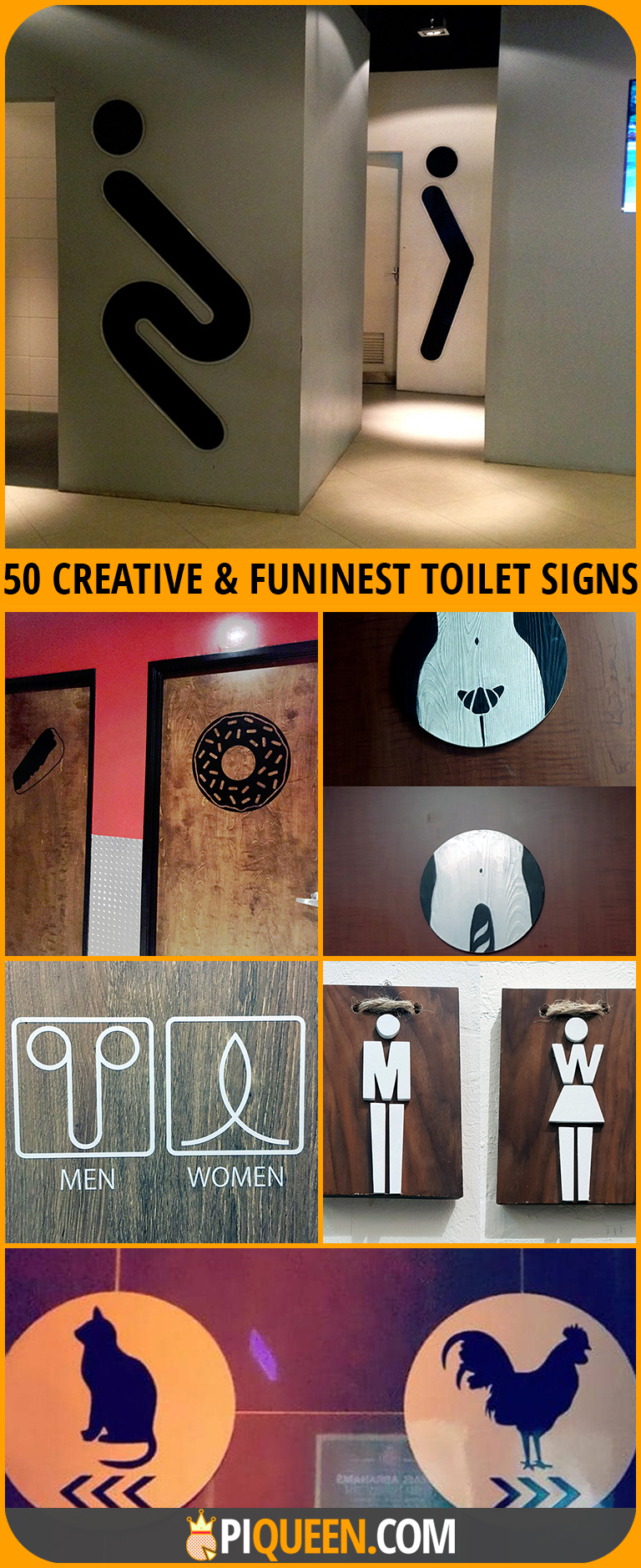50 Creative and Funniest Bathroom Signs You'll Ever Find ...