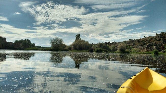 Río Tormes desde la canoa