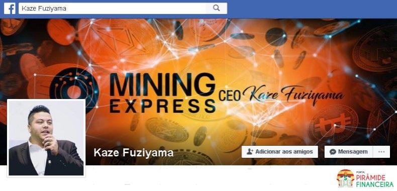 Mining Express Piramide? Fraude? Golpe?   CEO / Fundador