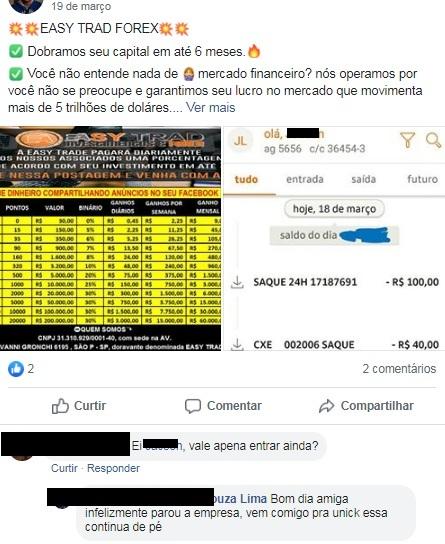 easy trad forex parou pagar caiu furada golpe scam