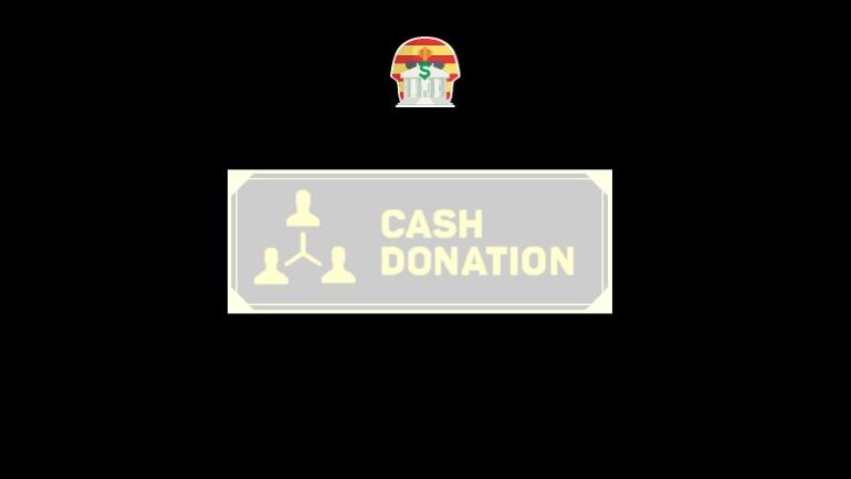 Cash Donation Piramide Financeira Scam Ponzi Fraude Confiavel