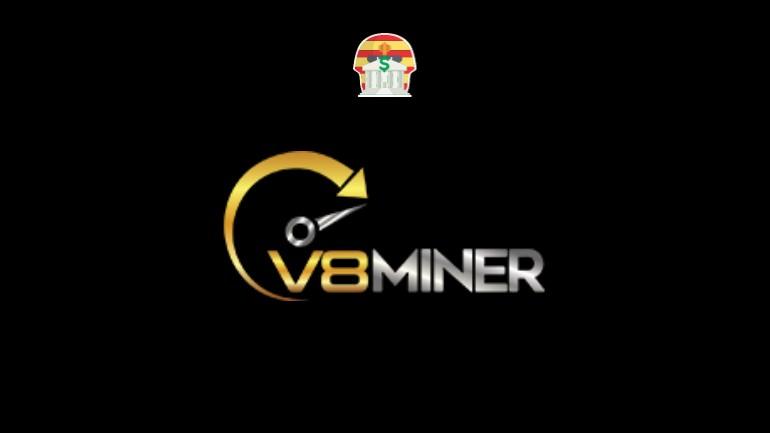 V8 Miner Piramide Financeira Scam Ponzi Fraude Confiavel