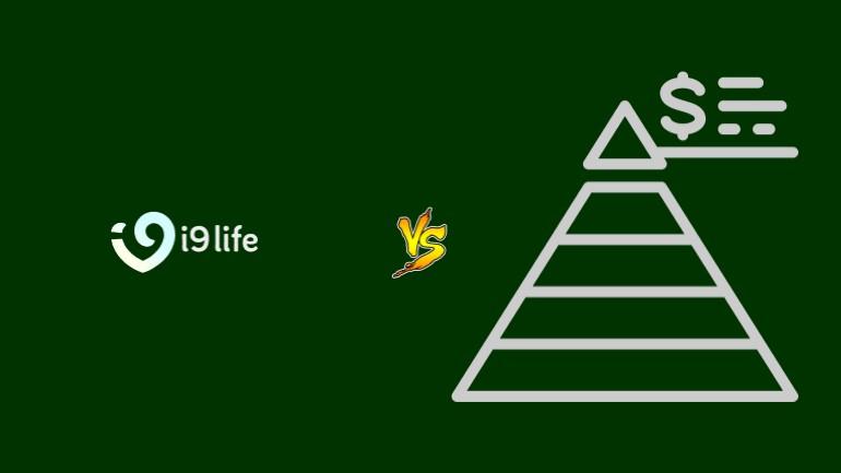i9Life Pirâmide Financeira Scam Ponzi Fraude Confiavel Furada - Versus
