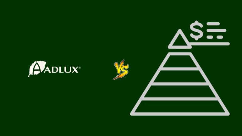 Adlux Pirâmide Financeira Scam Ponzi Fraude Confiavel Furada - Versus