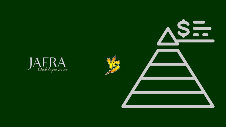 Jafra Pirâmide Financeira Scam Ponzi Fraude Confiavel Furada - Versus