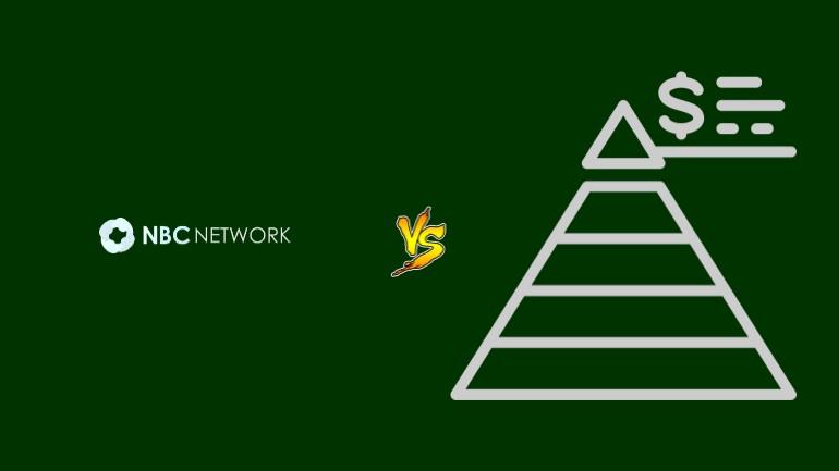NBC Network Pirâmide Financeira Scam Ponzi Fraude Confiavel Furada - Versus