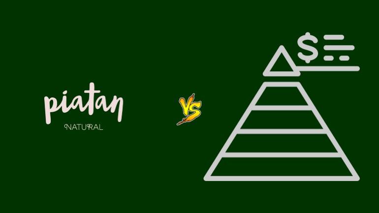 Piatan Natural Pirâmide Financeira Scam Ponzi Fraude Confiavel Furada - Versus