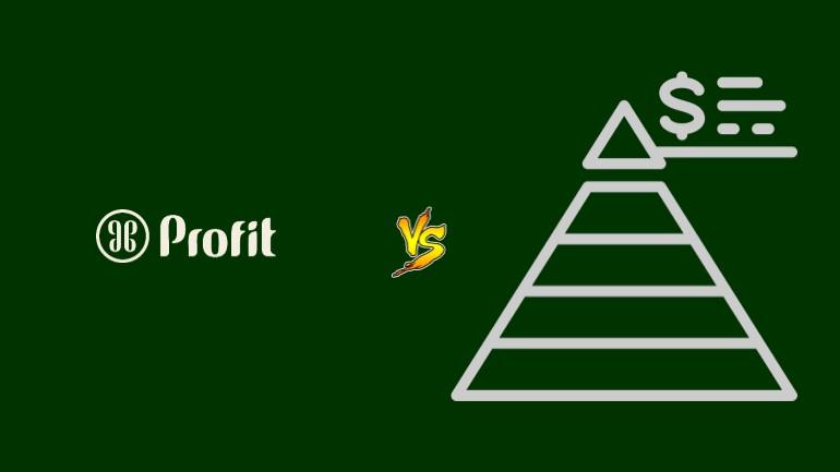 Profit Nemawashi Pirâmide Financeira Scam Ponzi Fraude Confiavel Furada - Versus