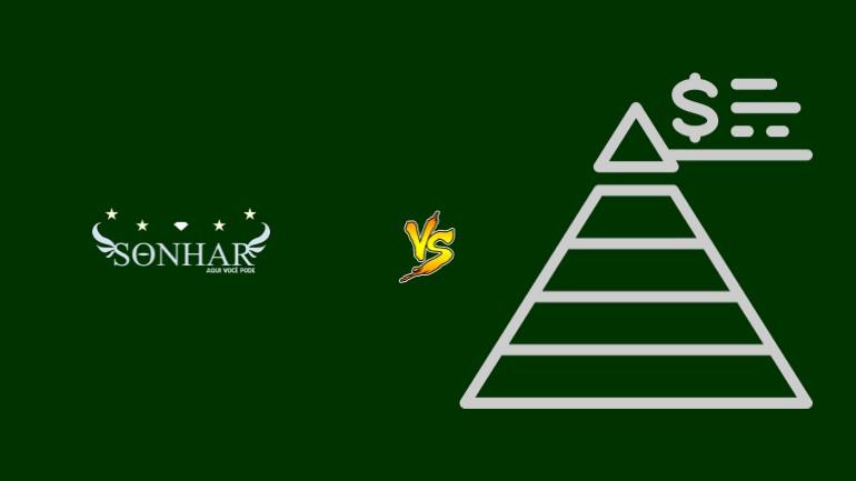 Sonhar Pirâmide Financeira Scam Ponzi Fraude Confiavel Furada - Versus