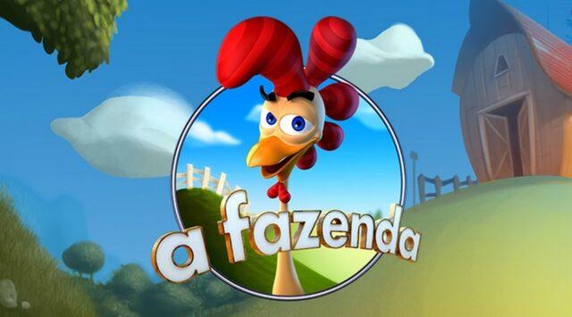 Uma foto do logotipo da A Fazenda