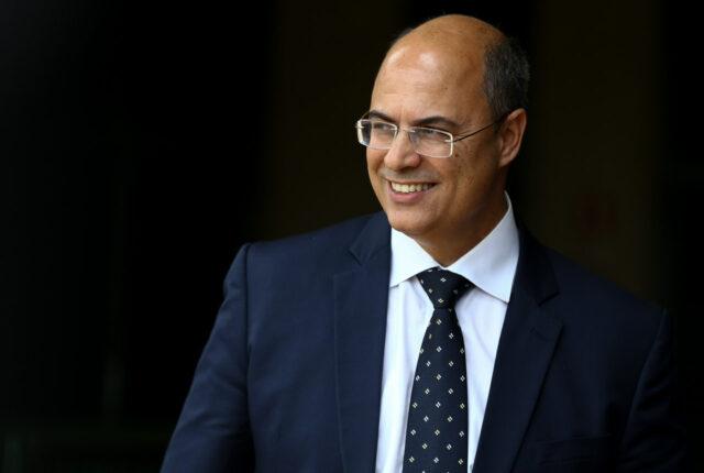 Uma foto do governador Wilson Witzel que foi afastado do Governo do Rio