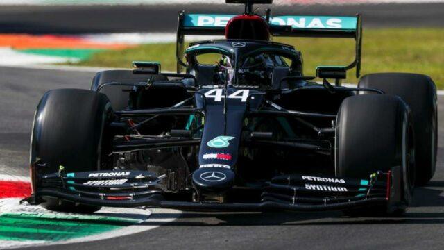 Hamilton dá o troco em Bottas e fecha dia de treinos na frente na Itália