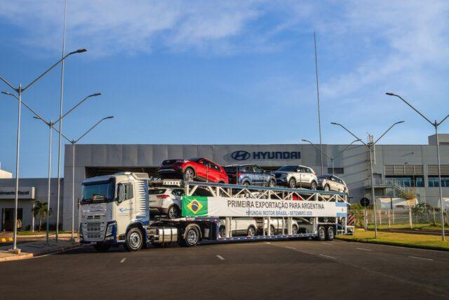 Hyundai inicia exportação para a Argentina de carros produzidos em Piracicaba