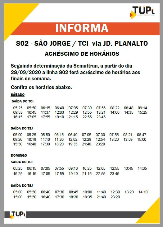 TUPi faz acréscimos de horários em mais linhas de ônibus de Piracicaba; confira