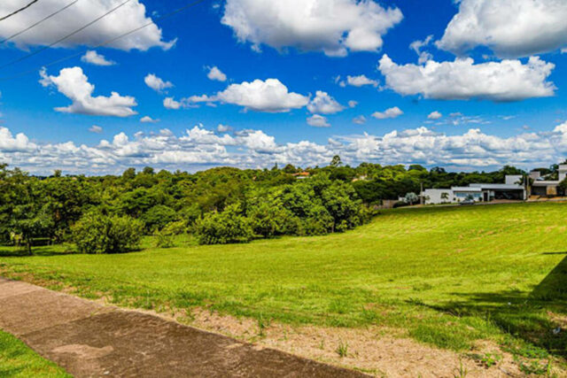 Uma foto de um terreno à venda no Campestre, em Piracicaba