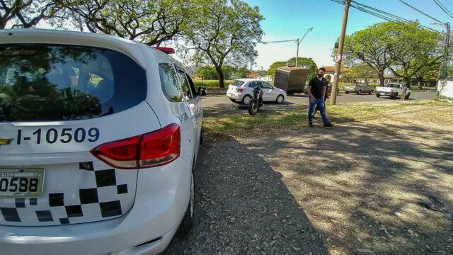 Em Piracicaba, motociclista de 51 anos é atingido por pneu de veículo em grave acidente