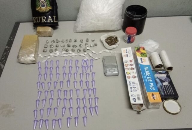 Em Piracicaba, indivíduo é preso em flagrante por crime de tráfico de drogas