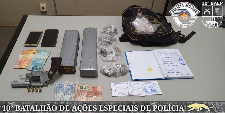 Integrantes do PCC são presos por policiais do BAEP em Iracemápolis