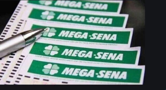 uma foto do volante da Mega-Sena 2313 desta quarta-feira 28-10-2020