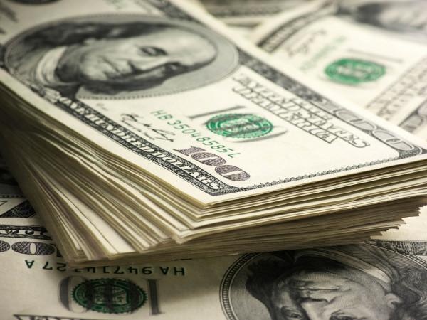 uma foto da cédula do dólar para cotação de hoje 09-10-2020