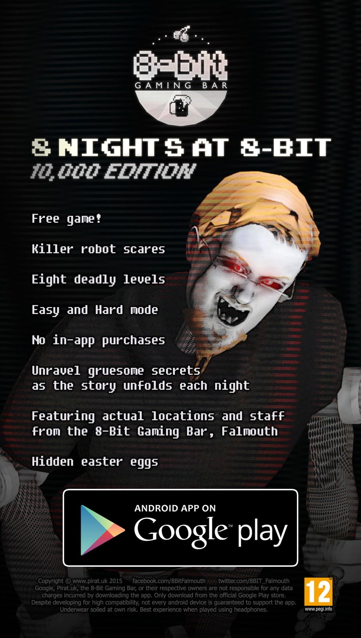 8 Nights at 8-Bit – 10,000 EDITION