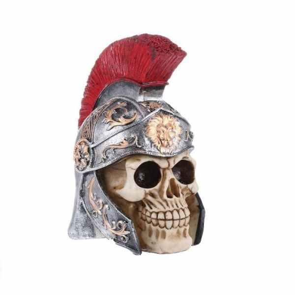 Centurion skull statue detail