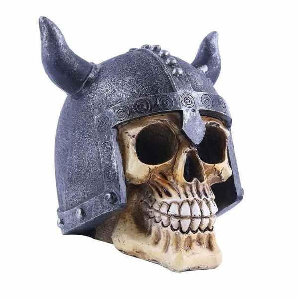 Viking skull decor side