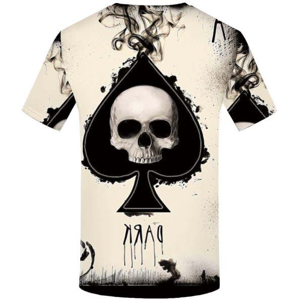 Ace Skull Tee Shirt back