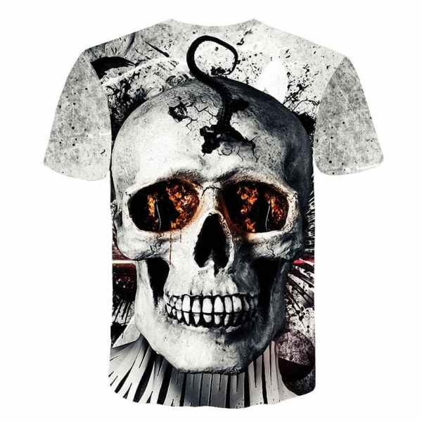 Broken Skull T-Shirt back