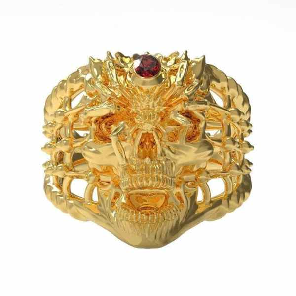 Gold Spider Ring