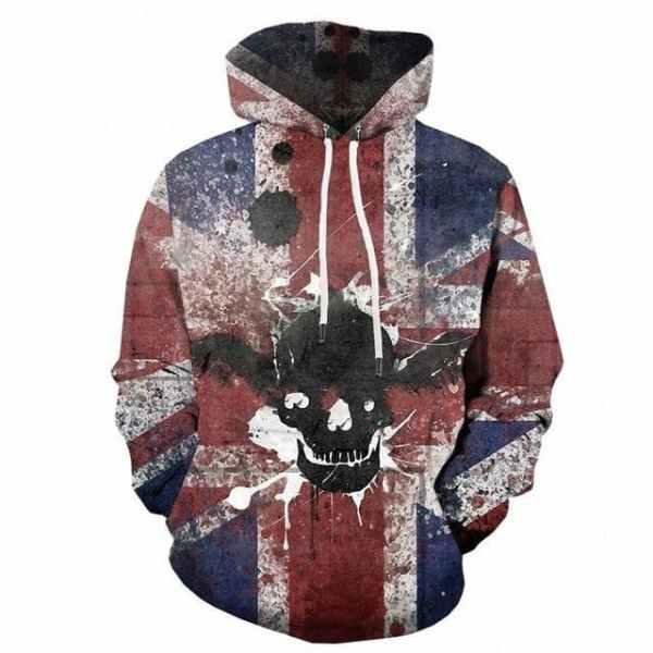 Skull Hoodie UK