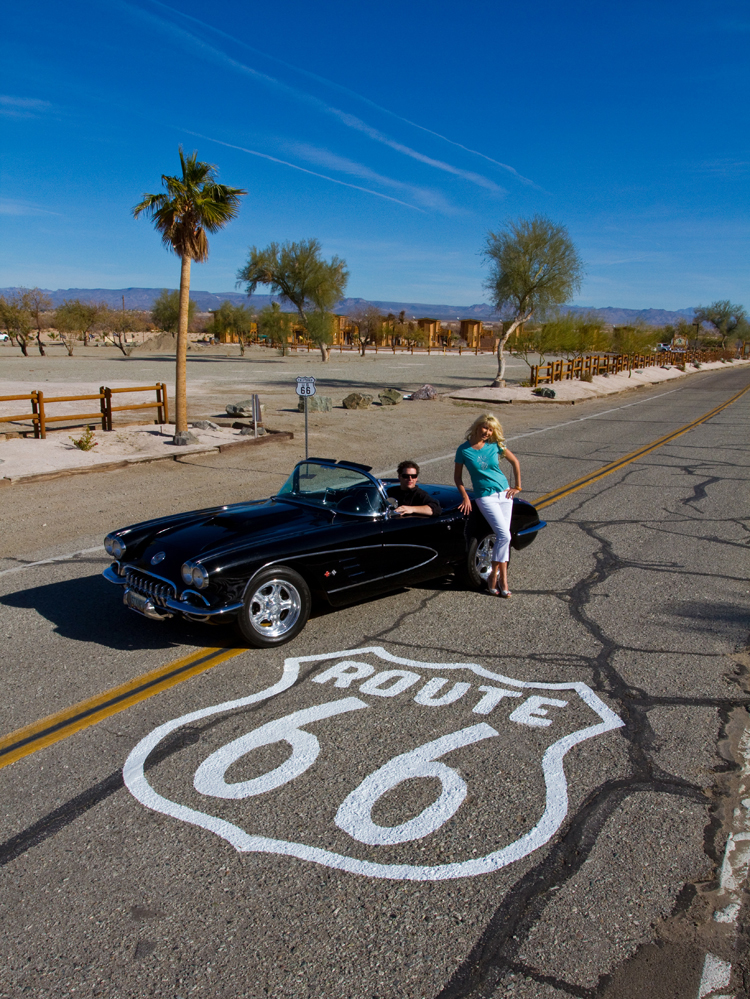 Route 66 En Camping Car : route, camping, Route, Pirate, Resort