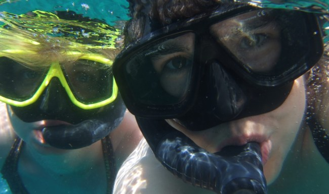 snorkelling the Similan Island
