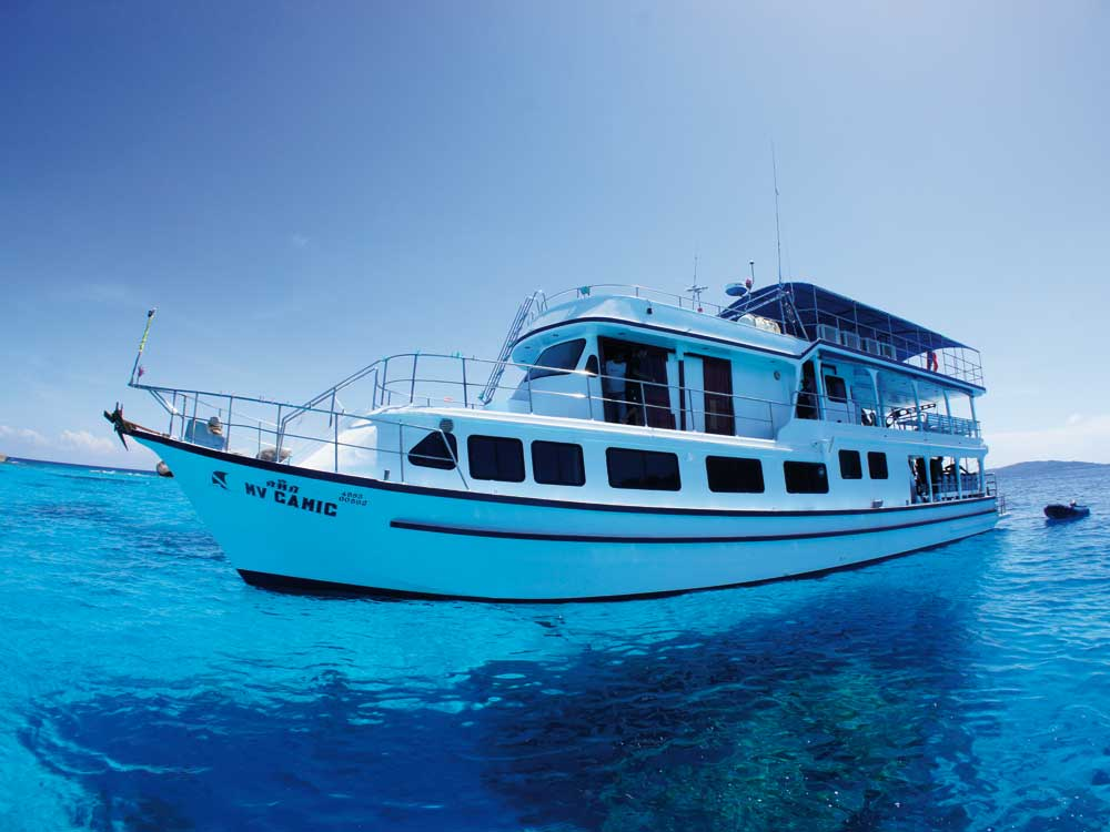 MV Camic Similan Liveaboard