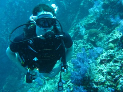Diving the Similand island