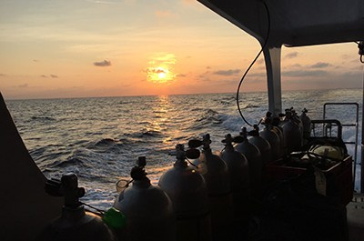 View from a Similan Liveaboard