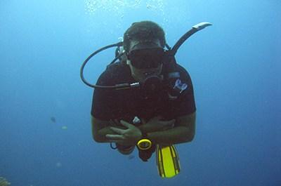 scuba diving khao lak, Thailand