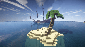 Screenshots from PirateCraft Version 1.