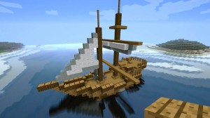 How to make a Dhow minecraft ship for PirateCraft