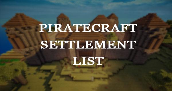 PirateCraft - minecraft pirate settlement application form